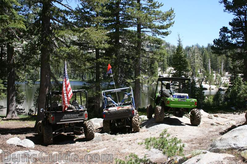 Yamaha Rhinos on the Barrett Lake Jeep Trail