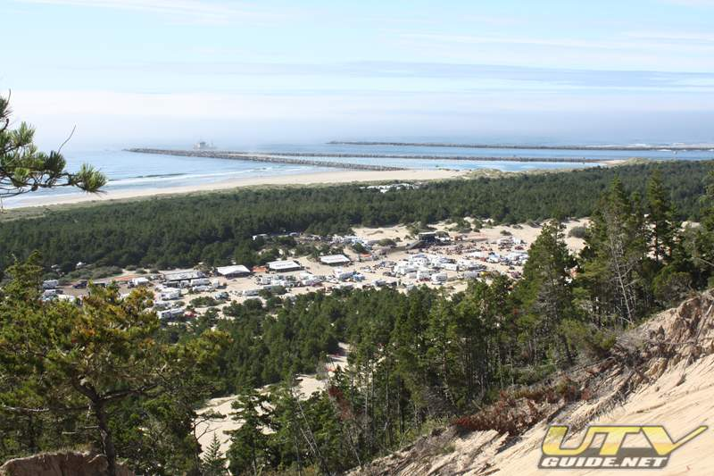 DuneFest 2010 from the top of Banshee Hill