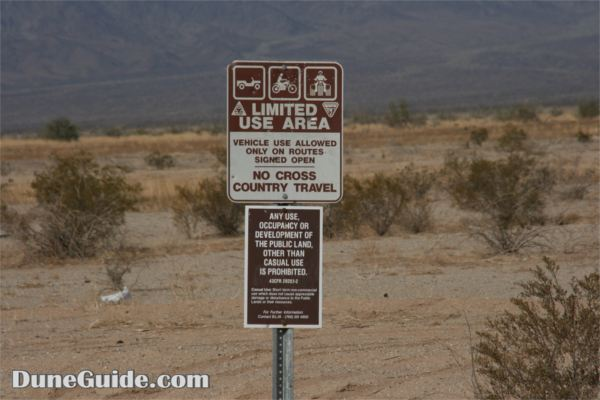 Ford Dry Lake - Limited Use Area
