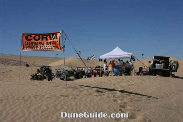 Glamis Poker Run - California Off-Road Vehicle Association checkpoint
