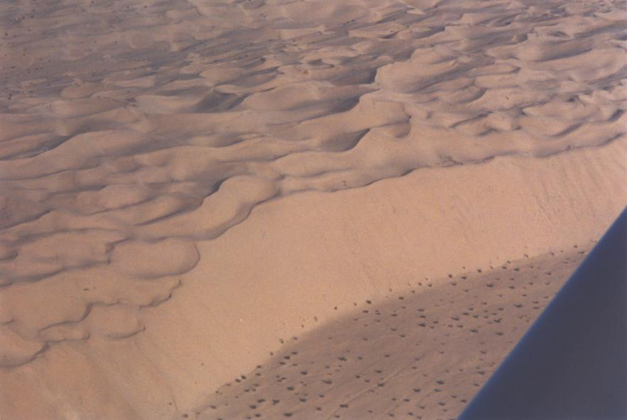 Patton Valley from the air - Imperial Sand Dunes
